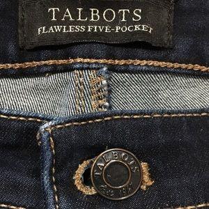 TALBOTS Flawless Five-Pocket Jeans